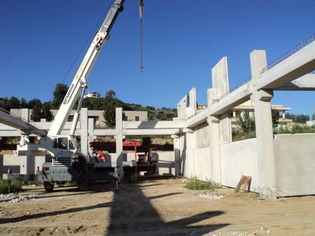 Capannoni prefabbricati in cemento armato